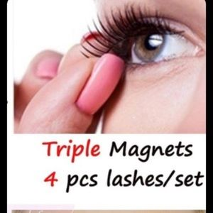 TRIPLE MAGNET TWO SETS EYELASHES